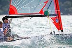 United States29erMenCrewUSAQW1QuinnWilson<br /> United States29erMenHelmUSARS210RomainScreve<br /> Day2, 2015 Youth Sailing World Championships,<br /> Langkawi, Malaysia