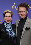 Marin Mazzie and Jason Danieley  attends Broadway Opening Night performance of 'Anastasia' at the Broadhurst Theatre on April 24, 2017 in New York City.