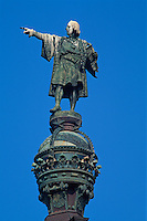Spanien, Katalonien, Barcelona, Kolumbusdenkmal