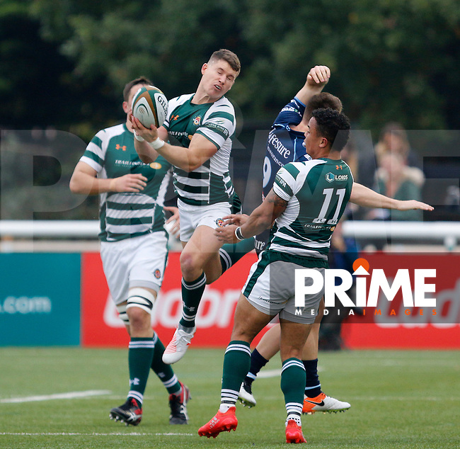 Ealing's Luke Daniels during the Greene King IPA Championship match between Ealing Trailfinders and Bedford Blues at Castle Bar , West Ealing , England  on 29 October 2016. Photo by Carlton Myrie / PRiME Media