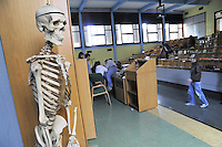 - University of Milan, course of nursing at the Hospital S. Carlo, home room....- Università di Milano, corso di infermieristica presso l'ospedale S.Carlo, aula magna