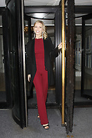 LONDON, ENGLAND - OCTOBER 08 :  Rachel Riley leaves the 'Legends Of Football' themed evening, at Grosvenor House Hotel on October 08, 2018 in London, England.<br /> CAP/AH<br /> &copy;AH/Capital Pictures