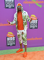 Nick Cannon at Nickelodeon's Kids' Choice Sports 2017 at UCLA's Pauley Pavilion. Los Angeles, USA 13 July  2017<br /> Picture: Paul Smith/Featureflash/SilverHub 0208 004 5359 sales@silverhubmedia.com