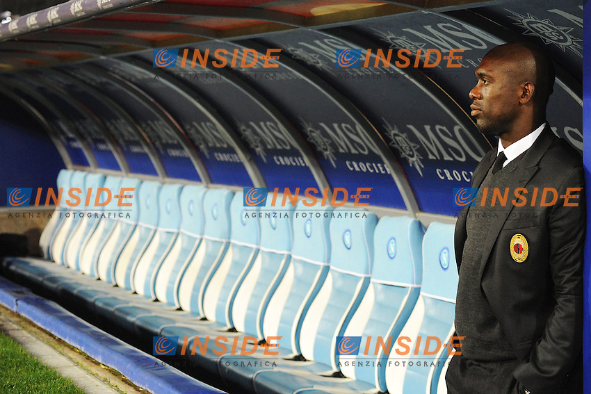 Clarence Seedorf Milan <br /> Napoli 08-02-2014 Stadio San Paolo - Football Calcio Serie A 2013/2014 Napoli - Milan Foto Andrea Staccioli / Insidefoto