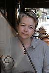 English author Sarah Waters in 2003.