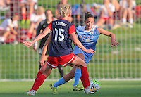 Boyds, MD - Saturday July 09, 2016: Amanda Da Costa, Joanna Lohman during a regular season National Women's Soccer League (NWSL) match between the Washington Spirit and the Chicago Red Stars at Maureen Hendricks Field, Maryland SoccerPlex.