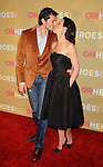 HOLLYWOOD, CA. - November 21: Debi Mazar (R) and husband Gabriele Corcos attend the 2009 CNN Heroes Awards held at The Kodak Theatre on November 21, 2009 in Hollywood, California.