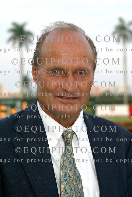 Trainer Barclay Tagg.Photo By EQUI-PHOTO.