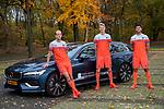 ARNHEM - Volvo ambassadeurs Billy Bakker, Joep de Mol en Glenn Schuurman. COPYRIGHT KOEN SUYK