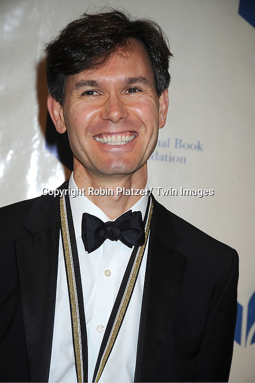 nominee Andrew Krivak attends The 2011 National Book Awards Gala on November 16, 2011 at Cipriani Wall Street in New York City.