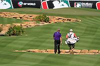 Darren Clarke (NIR) on the third day of the DUBAI WORLD CHAMPIONSHIP presented by DP World, Jumeirah Golf Estates, Dubai, United Arab Emirates.Picture Fran Caffrey www.golffile.ie