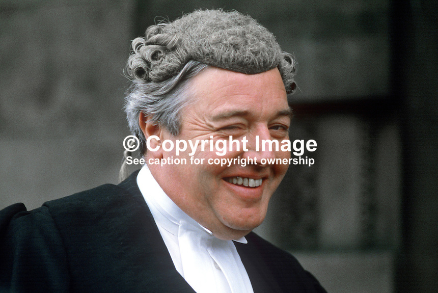 Patrick McEntee, barrister, Rep of Ireland, on the occasion of his being called to the N Ireland Bar. 19840084PME2.<br />
