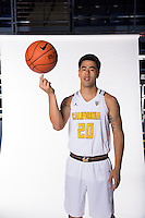 BERKELEY, CA - September, 2016: Cal Men's Basketball Marketing photos.