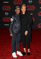 Spike Lee &amp; Tonya Lewis Lee  at the world premiere for &quot;Star Wars: The Last Jedi&quot; at the Shrine Auditorium. Los Angeles, USA 09 December  2017<br /> Picture: Paul Smith/Featureflash/SilverHub 0208 004 5359 sales@silverhubmedia.com