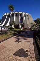Casino erbaut von Oscar Niemeyer in Funchal, Madeira, Portugal