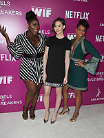 LOS ANGELES, CA - MAY 12: Danielle Brooks, Alison Brie, Regina King, at Netflix - Rebels And Rules Breakers For Your Consideration Event at Netflix FYSee Space At Raleigh Studios in Los Angeles, California on May 12, 2018. <br /> CAP/MPI/FS<br /> &copy;FS/MPI/Capital Pictures