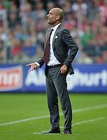 Fussball  1. Bundesliga  Saison 2013/2014  4. Spieltag SC Freiburg - FC Bayern Muenchen        27.08.2013 Trainer Pep Guardiola (FC Bayern Muenchen)