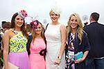Enjoying Ladies Day at the Listowel Races on Friday were: Eva Scanlon, Shauna Foley, Katie Galvin and Ally Doolan from Listowel
