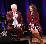 Steve Martin, and Edie Brickell   on stage during 'Bright Star' In Concert at Town Hall on December 12, 2016 in New York City.