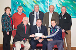Na Gaeil GAA  given a cheque from Chapter 21 Credit Union presented by Kerry County GAA board,  chairman Patrick O'Sullivan at the Manor West Hotel on Thursday Pictured front l- Tim Lynch, Patrick O'Sullivan and Paul Daly. Back l-r Mary O'Shea, Dermot Lynch, John O'Regan, Jack Harrington and Paudie Dineen