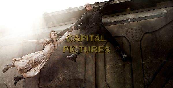 Lilly Collins & Paul Bettany.in Priest .*Filmstill - Editorial Use Only*.CAP/PLF.Supplied by Capital Pictures.