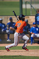 San Francisco Giants Mikey Edie (29) during an instructional league game against the Kansas City Royals on October 23, 2015 at the Papago Baseball Facility in Phoenix, Arizona.  (Mike Janes/Four Seam Images)