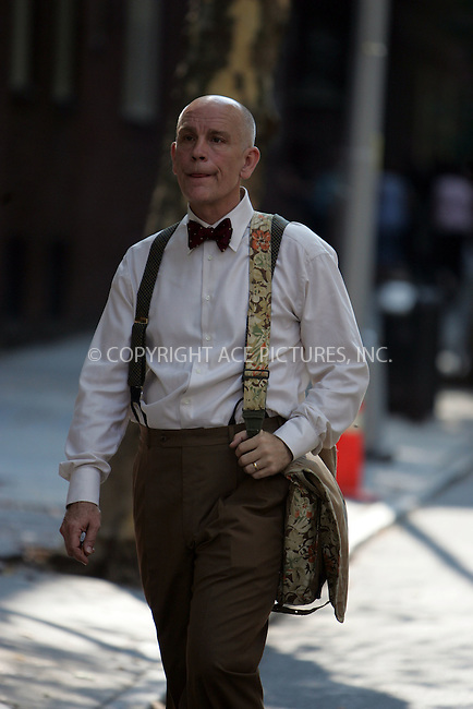 "WWW.ACEPIXS.COM . . . . . ....September 26 2007, Brooklyn, New York....Actor John Malkovich on the set of his new movie ""Burn after reading"" in Brooklyn Heights, Brooklyn.....Please byline: DAVID MURPHY - ACEPIXS.COM.. . . . . . ..Ace Pictures, Inc:  ..(646) 769 0430..e-mail: info@acepixs.com..web: http://www.acepixs.com"