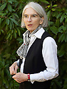 Donna Leon, crime writer  at The Oxford Literary Festival at Christchurch College Oxford  . Credit Geraint Lewis