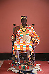 The Chief of Bechem in the Brong Ahafo region