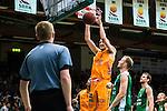 S&ouml;dert&auml;lje 2014-04-26 Basket SM-final S&ouml;dert&auml;lje Kings - Norrk&ouml;ping Dolphins :  <br /> Norrk&ouml;ping Dolphins Joakim Kjellbom g&ouml;r en dunk och po&auml;ng i matchen<br /> (Foto: Kenta J&ouml;nsson) Nyckelord:  S&ouml;dert&auml;lje Kings SBBK Norrk&ouml;ping Dolphins SM-final Final T&auml;ljehallen