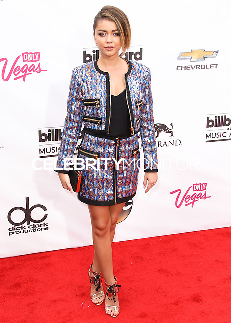 LAS VEGAS, NV, USA - MAY 18: Sarah Hyland at the Billboard Music Awards 2014 held at the MGM Grand Garden Arena on May 18, 2014 in Las Vegas, Nevada, United States. (Photo by Xavier Collin/Celebrity Monitor)