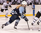 Ashley Carbone (CC - 3) - The Babson College Polar Bears defeated the Connecticut College Camels 3-0 on Thursday, January 12, 2017, at Fenway Park in Boston, Massachusetts.