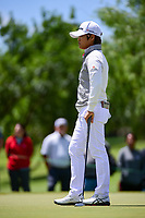 Haru Nomura (JPN) waits to putt on 1 during round 4 of  the Volunteers of America Texas Shootout Presented by JTBC, at the Las Colinas Country Club in Irving, Texas, USA. 4/30/2017.<br /> Picture: Golffile | Ken Murray<br /> <br /> <br /> All photo usage must carry mandatory copyright credit (&copy; Golffile | Ken Murray)