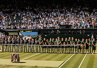 Ambience<br /> <br /> Tennis - The Championships Wimbledon  - Grand Slam -  All England Lawn Tennis Club  2013 -  Wimbledon - London - United Kingdom - Saturday 6th July 2013. <br /> &copy; AMN Images, 8 Cedar Court, Somerset Road, London, SW19 5HU<br /> Tel - +44 7843383012<br /> mfrey@advantagemedianet.com<br /> www.amnimages.photoshelter.com<br /> www.advantagemedianet.com<br /> www.tennishead.net