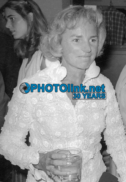Ethel Kennedy 1980<br /> Photo By Adam Scull/PHOTOlink.net