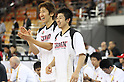 (L-R) Tomoo Amino, Takeki Shonaka (JPN), SEPTEMBER 19, 2011 - Basketball : 26th FIBA Asia Championship Second Group F match between Japan 101-61 UAE at Wuhan Sports Center in Wuhan, China. (Photo by Yoshio Kato/AFLO)