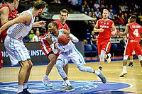 GRONINGEN - Basketbal, Donar - Aris, Dutch Baketball League, seizoen 2018-2019, 10-10-2018,  Donar speler Teddy Gipson