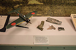 Japanese Zero Attack Fragments ,The USS Missouri, Pearl Harbor