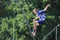 FIERLJEPPEN: VLIST: 22-08-2015, NK Fierljeppen/Polstokverspringen, Jarich Wijnstra, ©foto Martin de Jong
