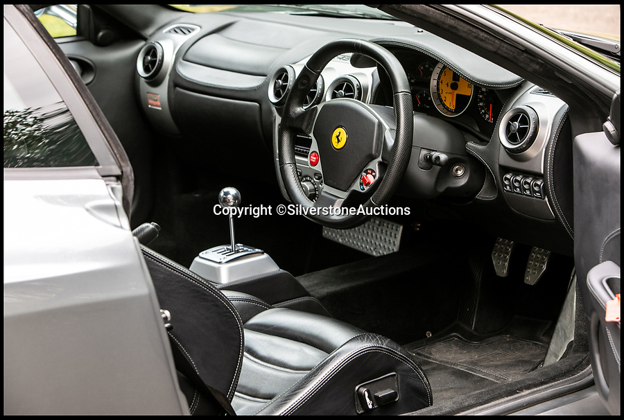BNPS.co.uk (01202 558833)<br /> Pic:     SilverstoneAuctions/BNPS<br /> <br /> F for Ferrari -  Gordon Ramseys F430 Ferrari supercar for sale.<br /> <br /> A Ferrari that Gordon Ramsay was once forced to sell due to financial difficulties has emerged for sale once again for £135,000.<br /> <br /> The TV chef bought the V8 motor from new in 2005 but had to part with it four years later when his restaurant empire was hit by the recession.<br /> <br /> At the time the Kitchen Nightmares star had even been advised to file for bankruptcy and his prized Ferrari had to be sacrificed.<br /> <br /> Since then Ramsay, 52, has recovered financially and the Ferrari has had a further two owners.