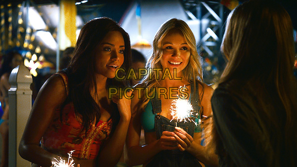 MEAGAN TANDY & KATRINA BOWDEN in Piranha 3DD (2012).*Filmstill - Editorial Use Only*.CAP/FB.Supplied by Capital Pictures.