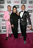 "LOS ANGELES, CA - MAY 13: Ross Mathews, Michelle Visage, Carson Kressley, at ""RuPaul's Drag Race"" Season 11 Finale Taping at The Orpheum Theatre in Los Angeles, California on May 13, 2019. <br /> CAP/MPIFM<br /> ©MPIFM/Capital Pictures"