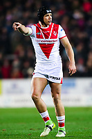 Picture by Alex Whitehead/SWpix.com - 16/03/2018 - Rugby League - Betfred Super League - St Helens v Leeds Rhinos - Totally Wicked Stadium, St Helens, England - St Helens' Jonny Lomax.