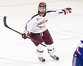 Colin Sullivan (BC - 2) - The Boston College Eagles defeated the visiting University of Massachusetts Lowell River Hawks 6-3 on Sunday, October 28, 2012, at Kelley Rink in Conte Forum in Chestnut Hill, Massachusetts.