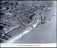 BNPS.co.uk (01202 558833)<br /> Pic: PhilYeomans/BNPS<br /> <br /> In the front line - Ramsgate and its harbour.<br /> <br /> Chilling - Hitlers 'How to' guide to the invasion of Britain.<br /> <br /> A remarkably detailed invasion plan pack of Britain has been unearthed to reveal how our genteel seaside resorts would have been in the front line had Hitler got his way in World War Two.<br /> <br /> The Operation Sea Lion documents, which were issued to German military headquarters' on August 1, 1940, contain numerous maps and photos of every town on the south coast.<br /> <br /> They provide a chilling reminder of how well prepared a German invading force would have been had the Luftwaffe not been rebuffed by The Few in the Battle of Britain.<br /> <br /> There is a large selection of black and white photos of seaside resorts and notable landmarks stretching all the way from Land's End in Cornwall to Broadstairs in Kent.<br /> <br /> The pack also features a map of Hastings, raising the possibility that a second battle could have been staged there, almost 900 years after the invading William The Conqueror triumphed in 1066.
