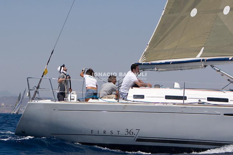 ESP7466 .RI 3 .LOMABE .FRANCISCO EGEA MARTINEZ .C.N.DOS MARES .FIRST 36.7 (LK) .2005 .10.64 .. .XIV TROFEO TABARCA CIUDAD DE ALICANTE.Real Club de Regatas de Alicante, 9 al 12 de Julio de 2009