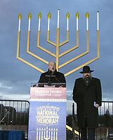 DEC 12 2017 National Chanukah Menorah Lighting