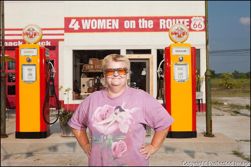 Kansas-Route 66<br /> Portrait<br /> Galena