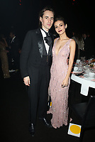 SANTA MONICA, CA - JANUARY 6: Reeve Carney and Victoria Justice inside at Art of Elysium's 11th Annual Heaven Celebration at Barker Hangar in Santa Monica, California on January 6, 2018. Credit: mpi809/MediaPunch