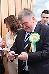 Johnny Brady, Fianna Fail at The Counting Station, Navan..Photo NEWSFILE/Jenny Matthews.(Photo credit should read Jenny Matthews/NEWSFILE)....This Picture has been sent you under the condtions enclosed by:.Newsfile Ltd..The Studio,.Millmount Abbey,.Drogheda,.Co Meath..Ireland..Tel: +353(0)41-9871240.Fax: +353(0)41-9871260.GSM: +353(0)86-2500958.email: pictures@newsfile.ie.www.newsfile.ie.FTP: 193.120.102.198.